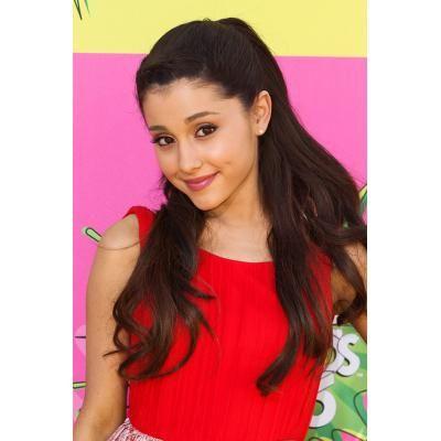 Ariana Grande in Red Dress