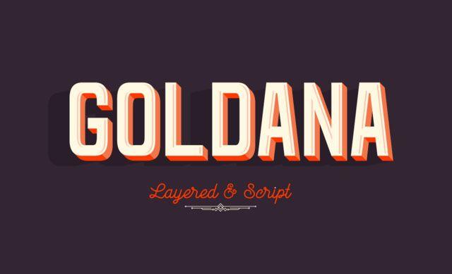 Goldana Font Family