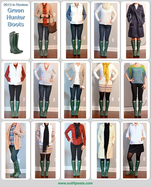 Outfit Posts: 2013 in review - outfit posts: hunter 'wellies' rain boots