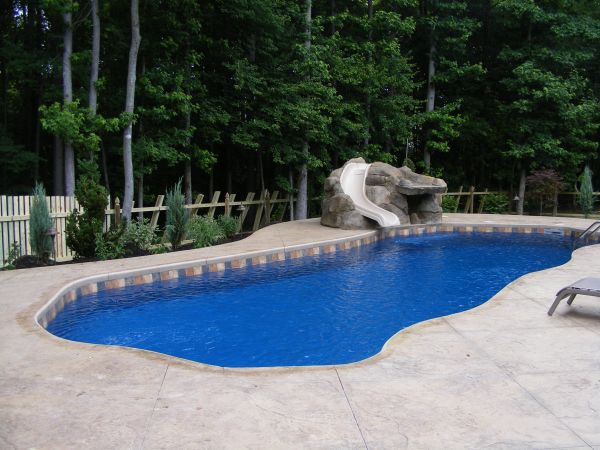 1000 Ideas About Swimming Pool Slides On Pinterest Swimming Pool Water Swimming Pools And