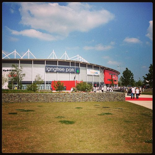 Langtree Park home of St Helens RLFC