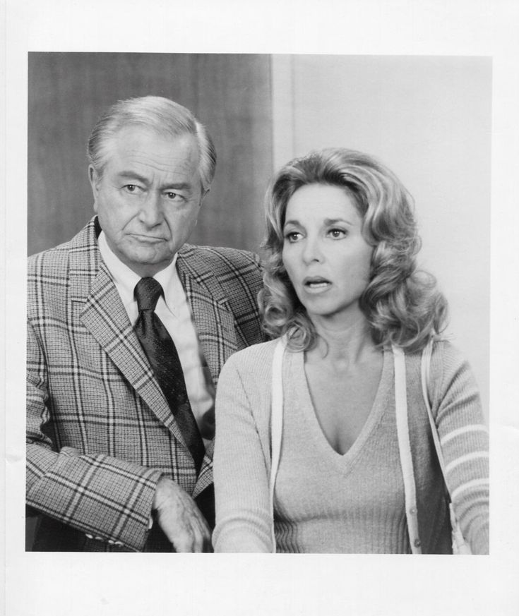"Beverly Garland and Robert Young on TV's Marcus Welby, M.D., ""A Fragile Possession"" (1972)"
