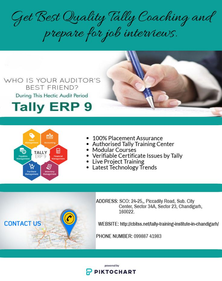 Best Tally Training Institute in Chandigarh by Cbitss