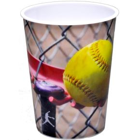 Girl's Softball Fast Pitch 16 oz Souvenir Cup
