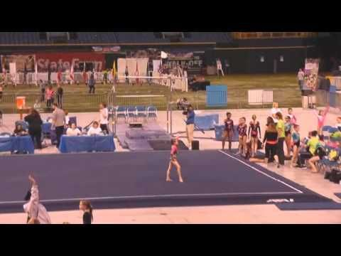 ▶ Kayla USAG Gymnastics New Level 5 - 38.250 1st Place All-Around at Tampa Bay Rays Stadium March 2014 - YouTube