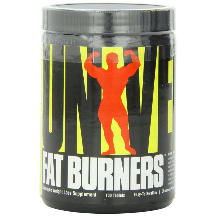fat burners 100 tablets universal nutrition