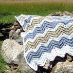 Chevron Crochet Blanket