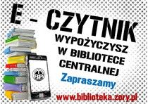 E-czytnik wypożyczysz w żorskiej bibliotece!