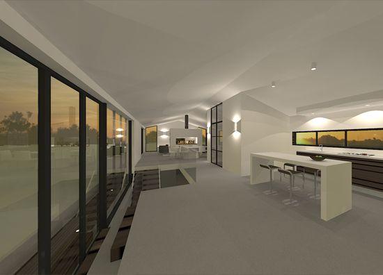 Interieur Moderne Woonark Nigtevecht