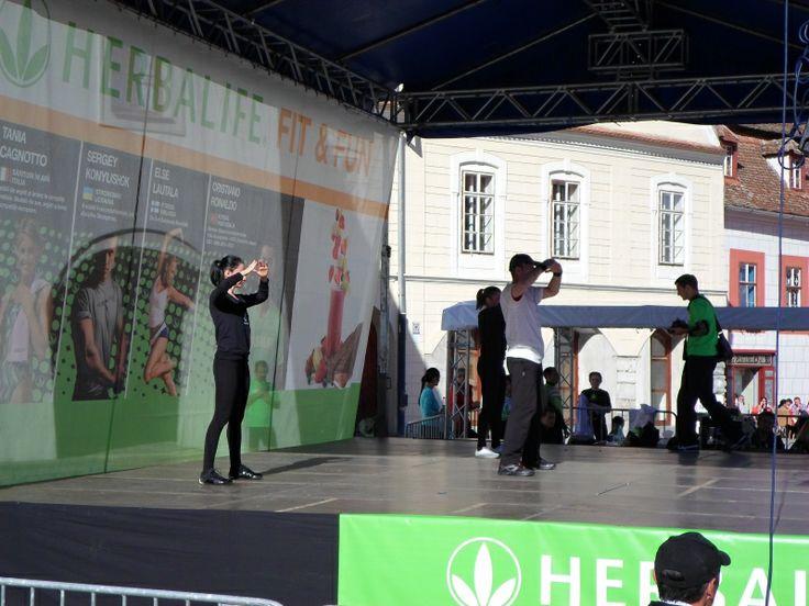 Demonstratie Tae Bo la Herbalife Fit&Fun