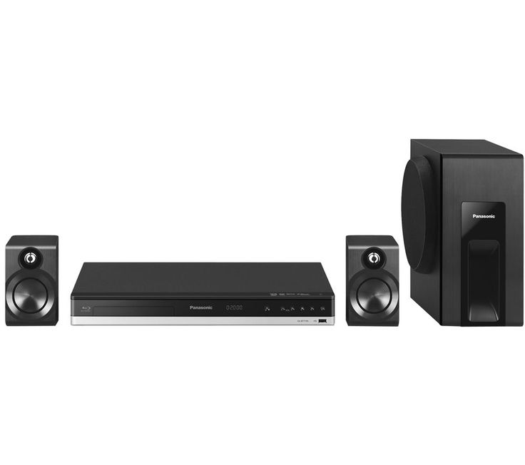 PANASONIC  SC-BTT105EBK 2.1 Smart 3D Home Cinema System Price: £ 189.00 This Panasonic SC-BTT105EBK 2.1 Smart 3D Home Cinema System offers powerful sound and incredible picture quality in a compact configuration. More sound than you'd expect 2.1 channels of audio make all your entertainment so much more immersive, defining highs and mids through the two bookshelf speakers while sending rich,...