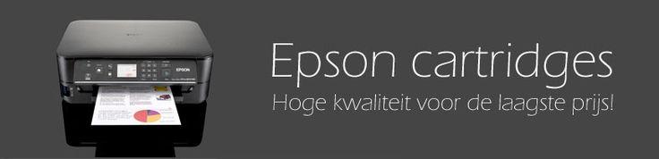 Epson cartridges.  Hoge kwaliteit voor de laagste prijs!