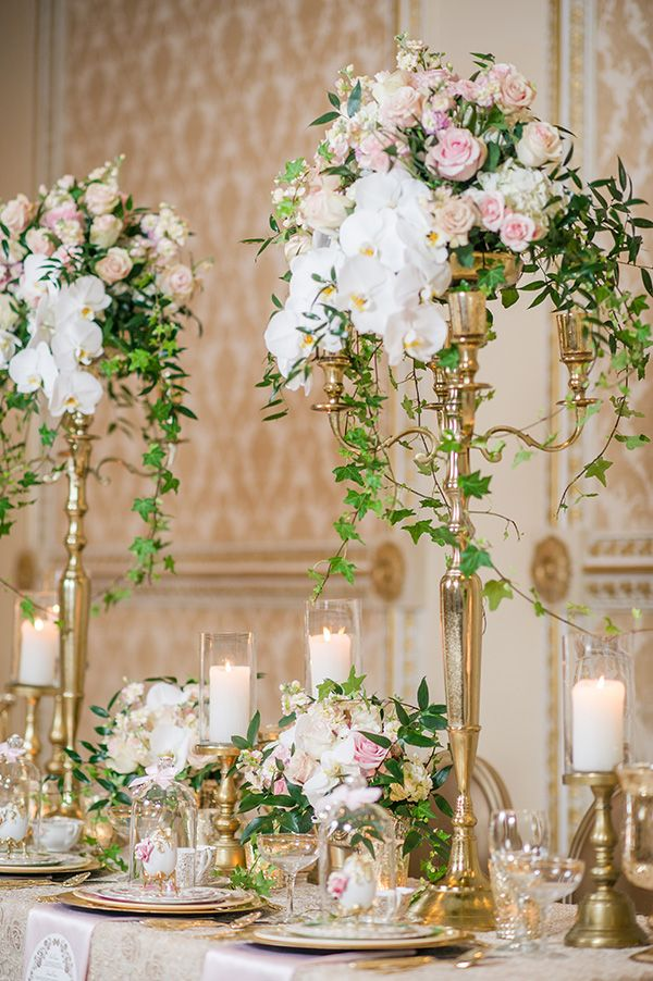 When pastel colors, refined textiles, luxe details and gorgeous images come together they make layer upon layer of romantic wedding style.
