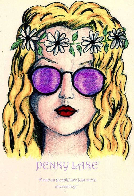 PENNY LANE  Almost Famous Character Print  by LittleEnithandSons