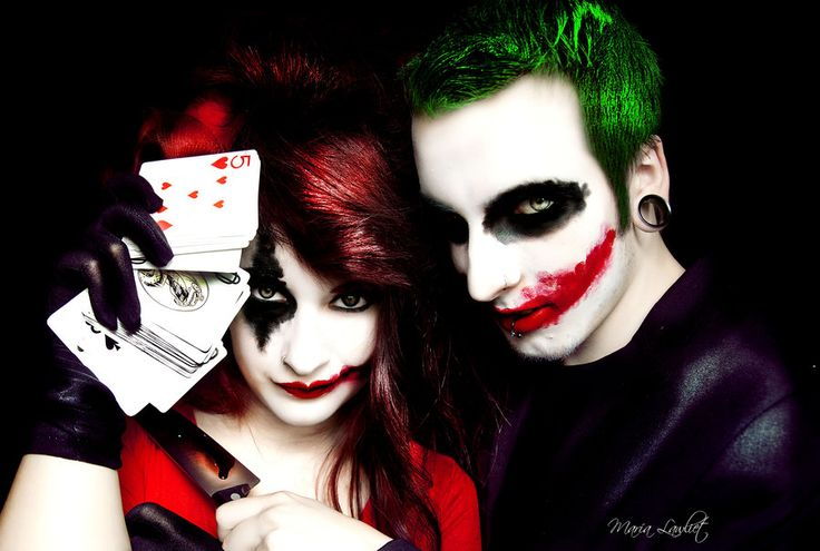 13 joker and harley quinn cosplay creative cosplay designs cosplay designs pinterest joker harley quinn and cosplay - The Joker And Harley Quinn Halloween Costumes