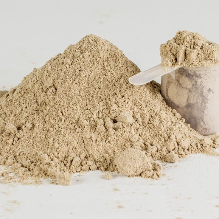 Brown Rice Protein Powder: Lose Weight -- Mix with pea protein powder for power punch