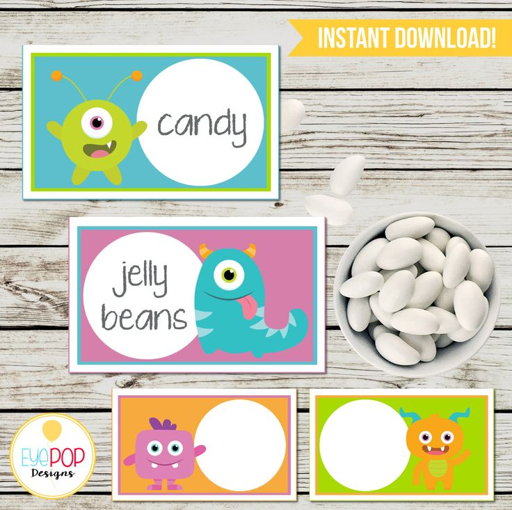 LITTLE MONSTER Party Printable Package, Birthday, Little Monster Birthday, Party Decorations, White, Digital, Printables, Invitation + More!