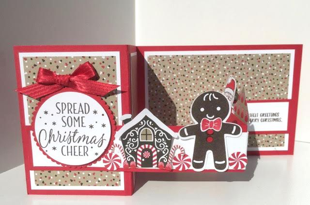 Class Description This style Z-Fold card is very popular, come and learn how to put one together, using the new Candy Lane Designer Series Paper and Cookie Cutter Stamps set and Punch bundle launching this September in the Holiday catalogue.Read More