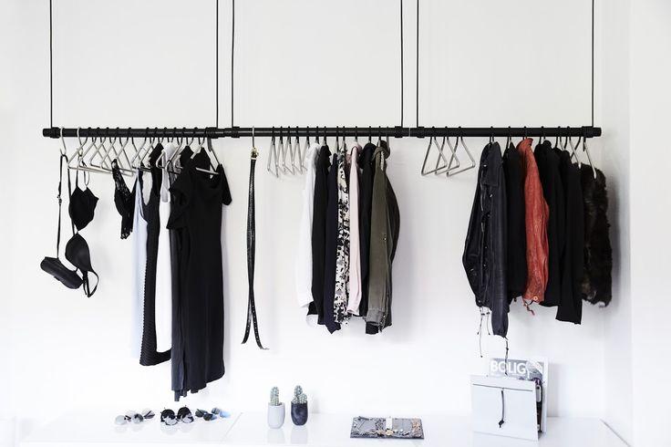 SWING black in line #wardrobe #linddna