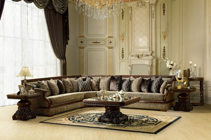 Formal Luxury Sectional Sofa 3 Pc Traditional Style Living Room Sectional  Hd 461 Project Pinterest Living Room Sectional Sectional Sofa And Living