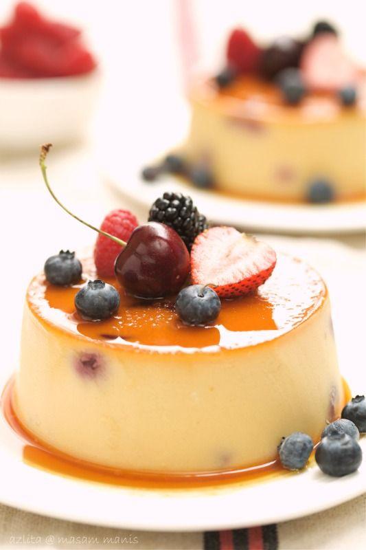 masam manis: SEASONAL FRUIT BREAD PUDDING