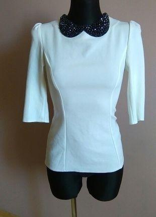 Kup mój przedmiot na #vintedpl http://www.vinted.pl/damska-odziez/bluzki-z-3-slash-4-rekawami/13831809-elegancka-biala-bluzka-koszula-zapinana-z-tylu