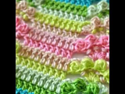 Baby blanket Flower pattern-step by step