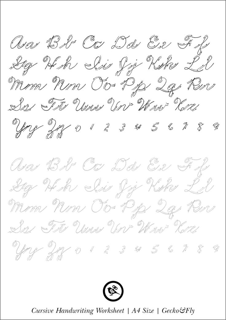 5 printable cursive handwriting worksheets for beautiful penmanship handwriting handwriting. Black Bedroom Furniture Sets. Home Design Ideas