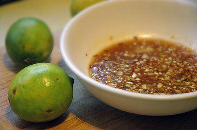 Lime, ginger and garlic stir fry sauce