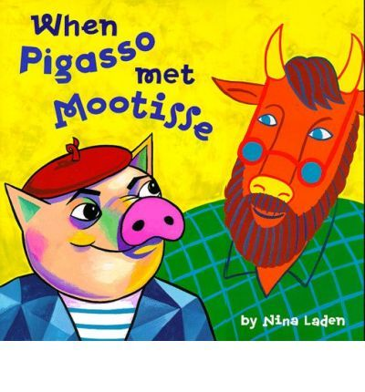 Pigasso, a talented pig, and Mootisse, an artistic bull, live across the road from one another, but when conflicts arise they build fences that ultimately become modern art masterpieces. Includes biographies of the real-life artists, Henri Matisse and Pablo Picasso.