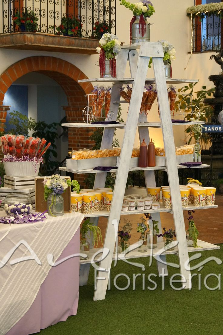 Escalera de Dulces, mesas de dulces