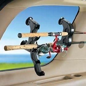 Rod storage, easy transport. For an airplane? Looks like they are flying to me. I love it!...