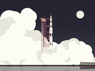 Saturn-v-rocket-launch-dribbble