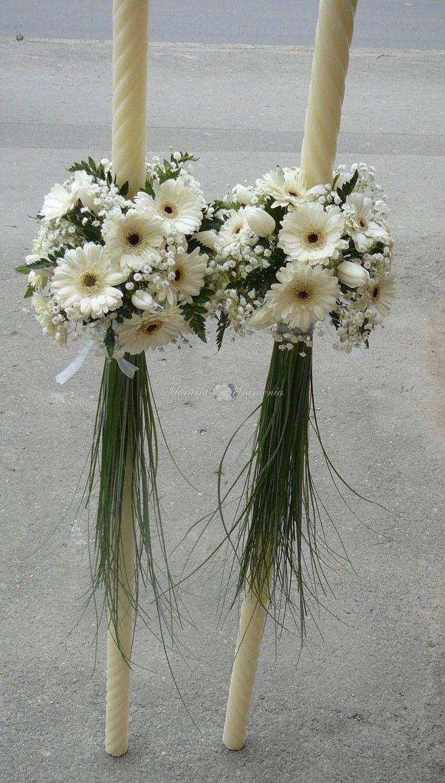 Lumanari nunta la Floraria Gardenia Tulcea