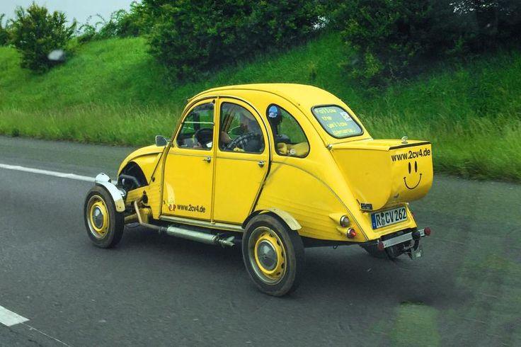 Citroën 2CV Canard étroit