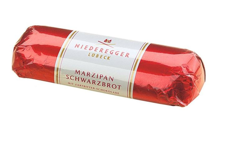 Niederegger Marzipan Loaf enrobed in Dark Chocolate