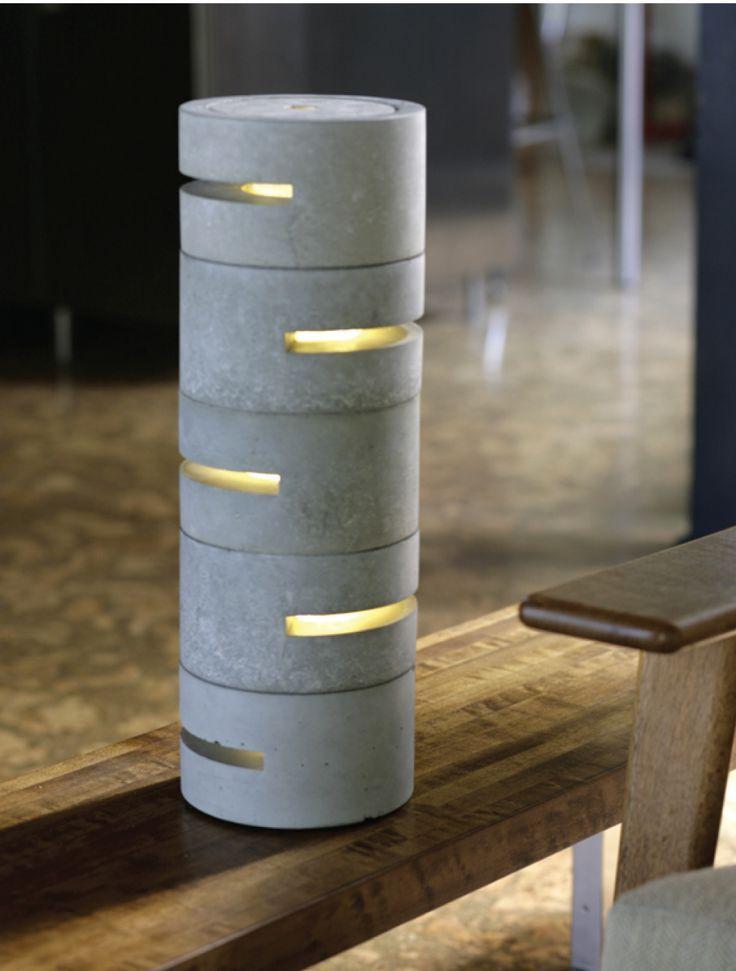Concrete Lamps Google Search I Like That Lamp Diy Home Decor Diy Lighting Diy Tutorials Concrete Decor In 2020 Selbermachen Beton Betonlampe Lampe Beton