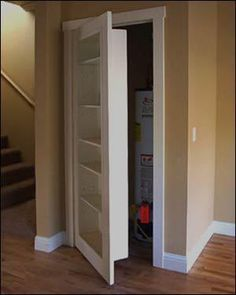 .For that weird closet in the basement hallway                                                                                                                                                                                 More