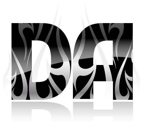 "The ""DA"", The Design Affiliates corporate logo."