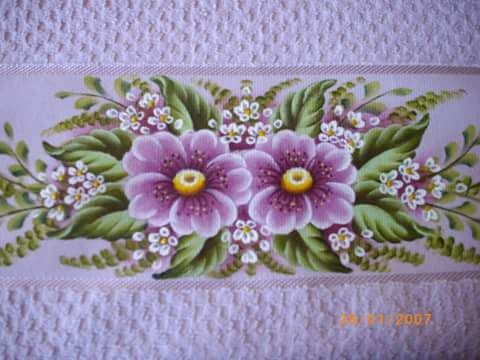 Mejores 443 im genes de pintura en tela toallas - Pintura de baneras ...