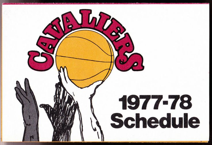 1977-78 CLEVELAND CAVALIERS STOUFFERS BASKETBALL POCKET SCHEDULE FREE SHIP #SCHEDULE