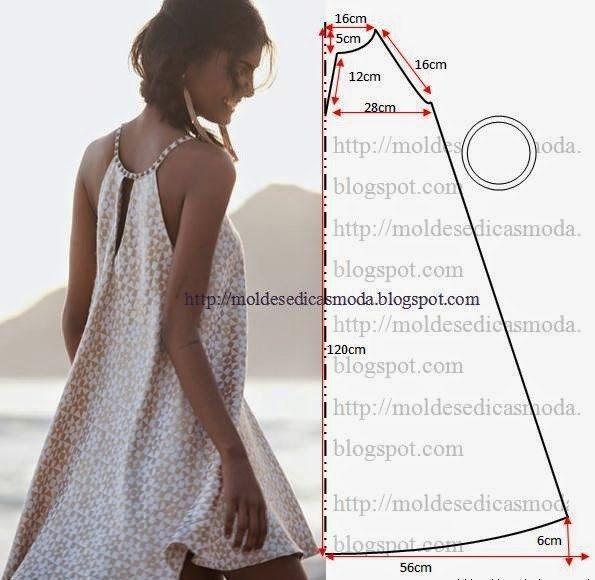 БОЛЬШАЯ ПОДБОРКА летние платья, сарафаны, туники — легкий крой (Шитье и крой) | Журнал Вдохновение Рукодельницы