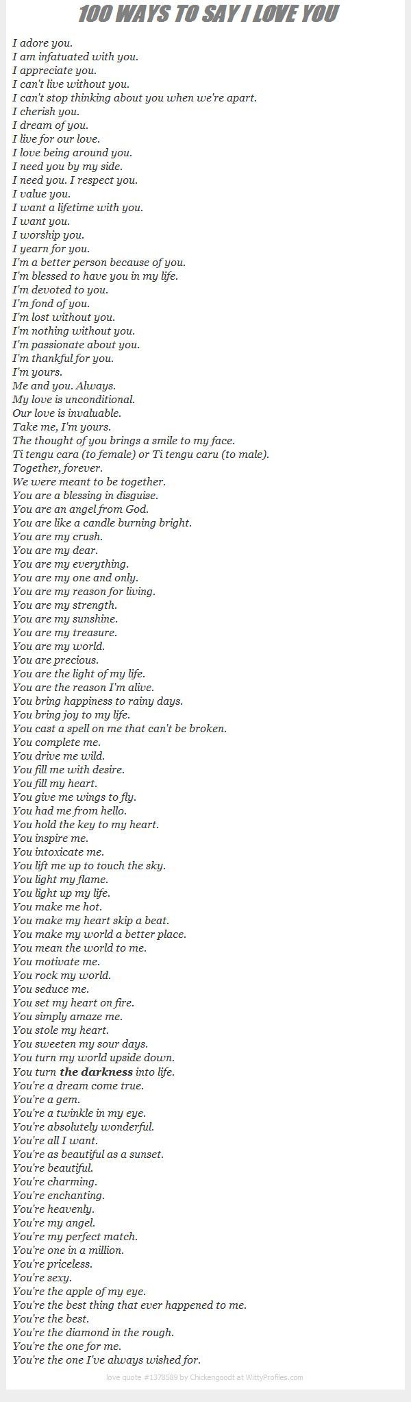 100 Ways To Say I Love You Quotes About Boyfriend, Love Quotes Crushes Boyfriends, Adorable Boyfriend Quotes, Love Quote... - Relationship Quotes