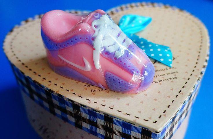 Μπομπονιέρα Βάπτισης Σαπουνάκι παπουτσάκι Nike!