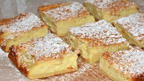 Lahodné domácí vanilkové buchty posypané moučkovým cukrem!