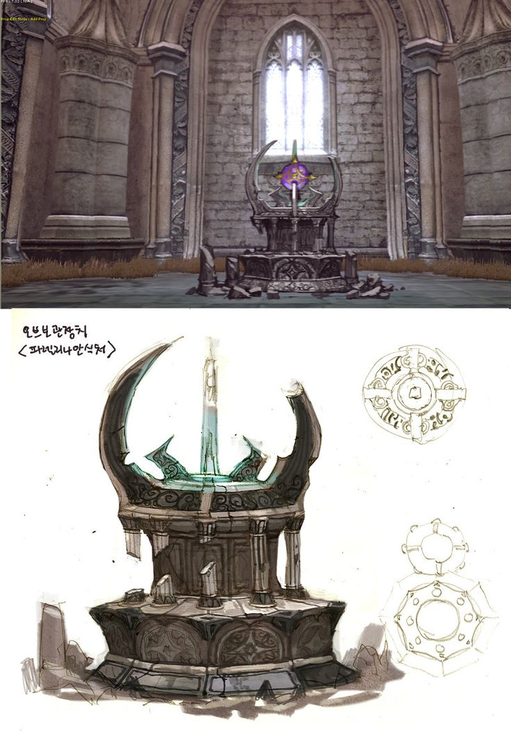 ArtStation - DragonNest(2010)_BackGround_01, Seung Chan Lee