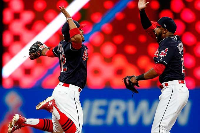 Indios de Cleveland llegaron a 20 victorias en fila en la MLB #Beisbol #Deportes