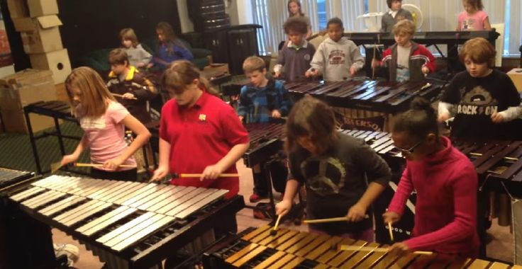 Students played incredibly well the song - Crazy Train by Ozzy Osbourne.