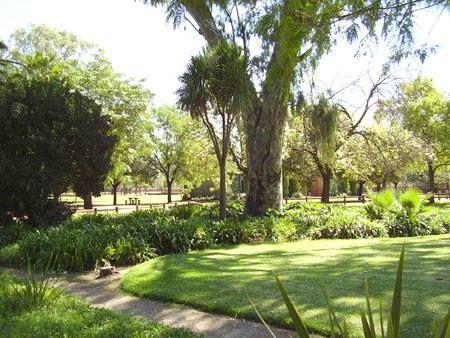 The gardens at Bloemfontein Zoo