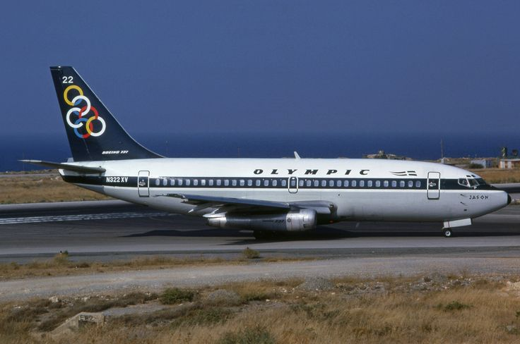 N322XV - Boeing B-737-219 - Olympic Airways (leased from ASC) at Athens Ellinikon Airport (ATH) in 1989